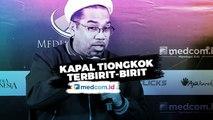 Ngabalin Sebut Kapal Tiongkok 'Terbirit-Birit' Tahu Jokowi ke Natuna