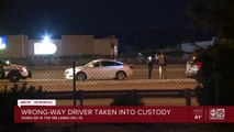 Wrong-way driver stopped on I-10 at 40th Street
