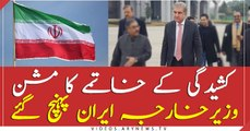 FM Qureshi reached Iran