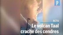 Philippines : le volcan Taal se réveille