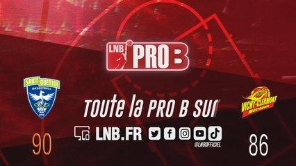 PRO B : Saint-Quentin vs Vichy-Clermont (J14)