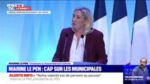 """Marine Le Pen: """"La réforme des retraites prend valeur de symbole: le fond est odieux, la forme est un manipulation de bout en bout"""""""