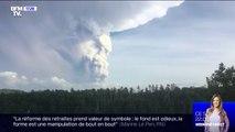 Des milliers de personnes ont dû être évacuées aux Philippines après que le volcan Taal est entré en éruption