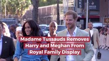Madame Tussauds Removes The Royal Couple