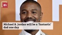 Michael B. Jordan Is Dad Goals