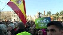 """Spagna: manifestazioni di Vox e """"España Existe"""" contro il governo Sánchez-Iglesias"""