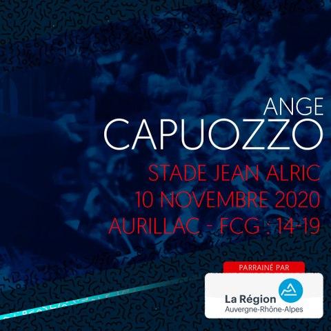 Rugby : Video - L'essai d'Ange Capuozzo à Aurillac