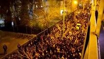 Ocho cohetes impactan base iraquí, mientras en Irán protestan por avión derribado