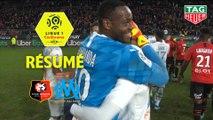 Stade Rennais FC - Olympique de Marseille (0-1)  - Résumé - (SRFC-OM) / 2019-20
