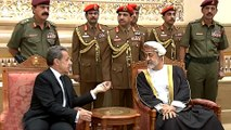 Oman's new leader receives dignitaries