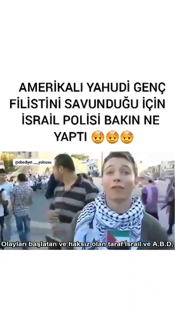 Israili anlatmaya gerek yok