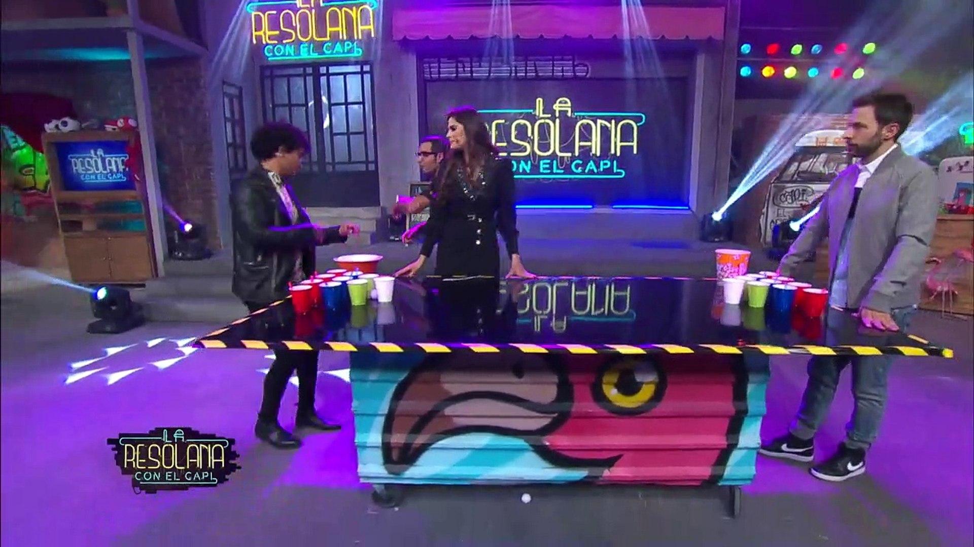 ¡El Capi nos confesó que ha dado un BESO A ALGUIEN DE SU MISMO SEXO en el Chela Pong!  | La Resolana