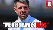 """""""Nos tuvimos que haber ido con algún punto"""": Paulo Pezzolano"""