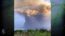 TAAL Volcano Eruption in Philippines (Jan 12, 2020)