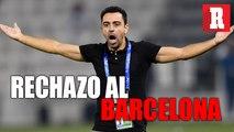 Xavi Hernández rechazó dirigir al Barcelona