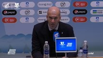 Zidane delighted after nine final wins out of nine as Real coach