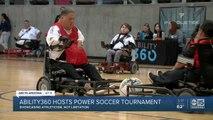 Ability360 hosts power soccer tournament