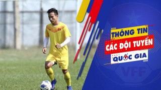 Tiền vệ Triệu Việt Hưng: U23 Việt Nam sẽ cố gắng giành 3 điểm trước U23 Jordan   VFF Channel