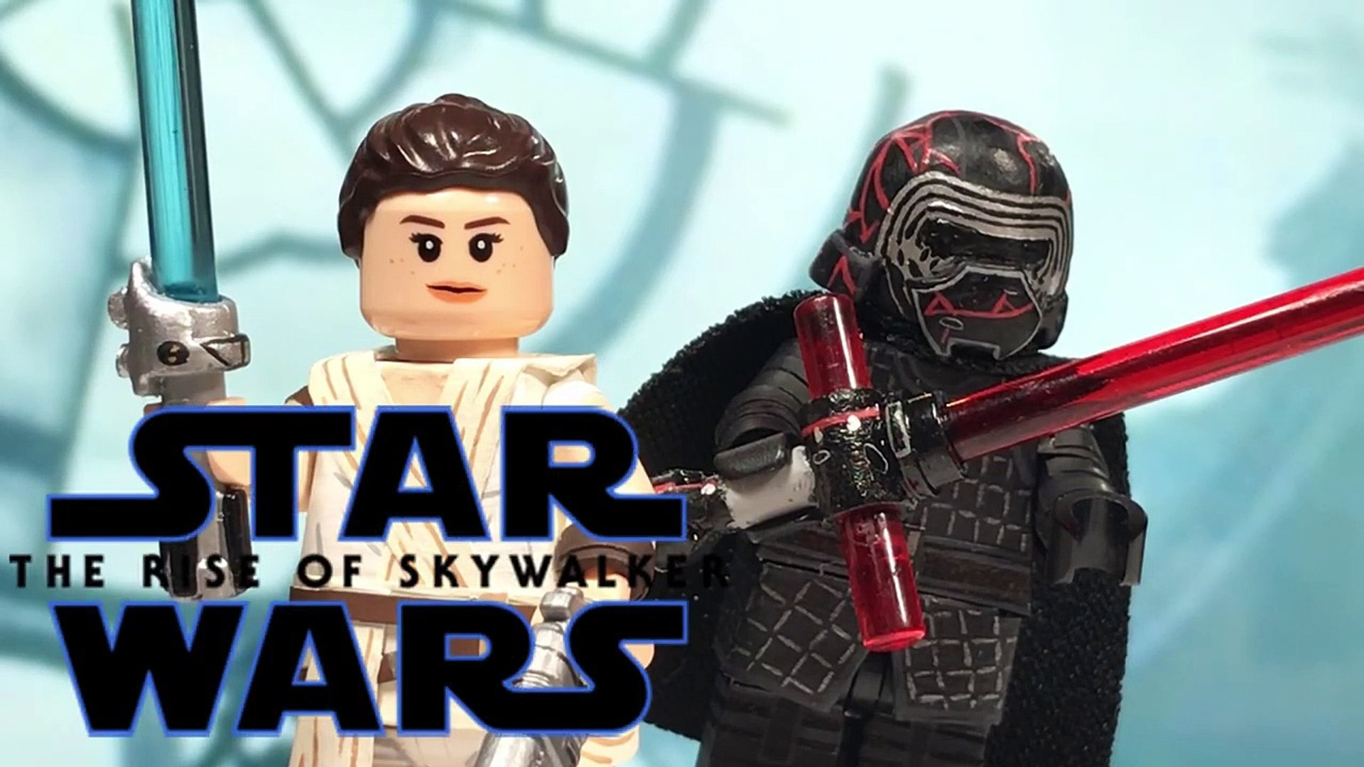 Lego Star Wars The Rise Of Skywalker Rey V 3 And Kylo Ren Video Dailymotion