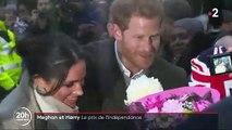 La reine Elizabeth II organise aujourd'hui une réunion  en urgence avec le prince Harry pour résoudre la crise déclenchée par l'annonce du couple Harry-Meghan de se mettre en retrait