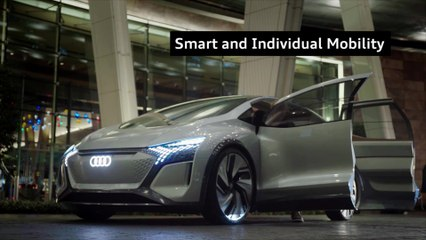 Mobility smart and individual – The Audi highlights at CES 2020