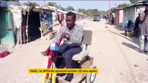 Dix ans après le séisme, Haïti peine à se reconstruire