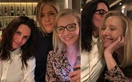 FRIENDS Trio Jennifer Aniston, Courteney Cox, Lisa Kudrow Reunite For A Girls' Night, And We Couldn't Be More Excited