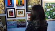 Aditi Rao Hydari Visit Gautam Patole Art Festival 2020 -1