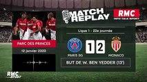 PSG - Monaco (3-3) : Le goal replay avec les commentaires RMC