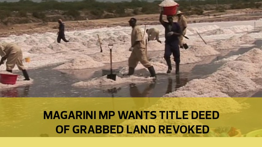 Magarini MP wants title deed of grabbed land revoked