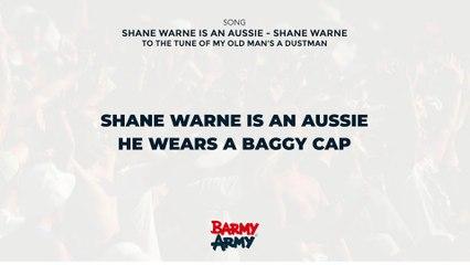 Shane Warne is an Aussie - Shane Warne