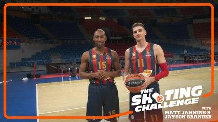 Shooting Challenge: Matt Janning & Jayson Granger, Baskonia