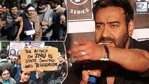 Ajay Devgn Finally Reacts On JNU Violence After Release Of Tanhaji