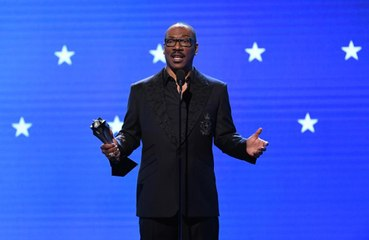 Eddie Murphy tells actors to 'never play a spaceship' at Critics' Choice Awards