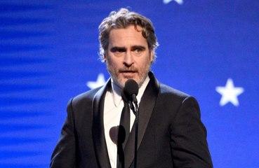 Joaquin Phoenix thanks mum in Critics' Choice Awards speech for Best Actor