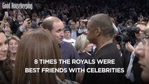8 times the royals were best friends with celebrities
