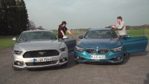 BMW 430i vs Ford Mustang