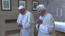 Benedict breaks silence on Vatican's celibacy debate