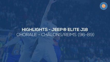 2019/20 Highlights Chorale - Châlons/Reims (96-89, JE J18)