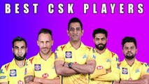 IPL 2020: Best players in each area for Chennai Super Kings