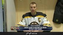 Zdeno Chara Set To Play 1,000th Game With Boston Bruins