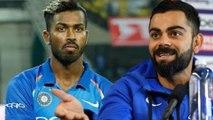 Kohli wants Hardik Pandya in the odi squad