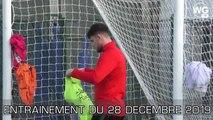 Images de l'entrainement des Girondins du 28.12_1