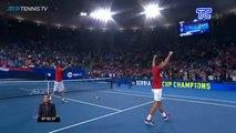 Serbia es el primer campeón de la ATP Cup