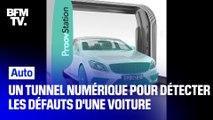 Une start-up invente un tunnel numérique pouvant détecter le moindre défaut sur une voiture