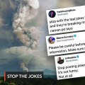 'Stop the jokes': Celebrities call for sensitivity as Taal Volcano threat looms