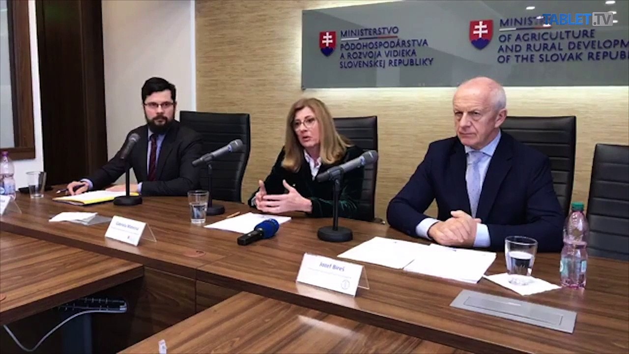 ZÁZNAM: TK ministerky pôdohospodárstva a rozvoja vidieka SR G. Matečnej