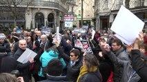 """Reportage - Une manifestation """"Toujours Charlie"""" cinq ans après"""