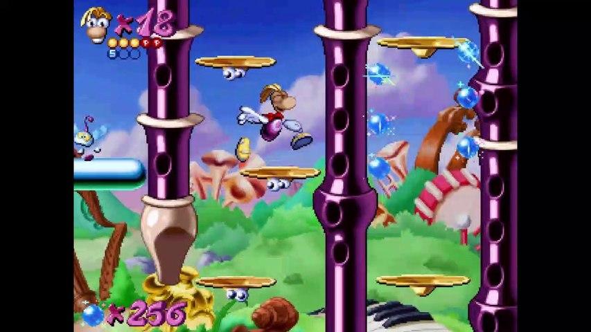 MortaLet's Play - Rayman Redemption Gameplay Demo [Partie 3 : La Butte aux Bongos]