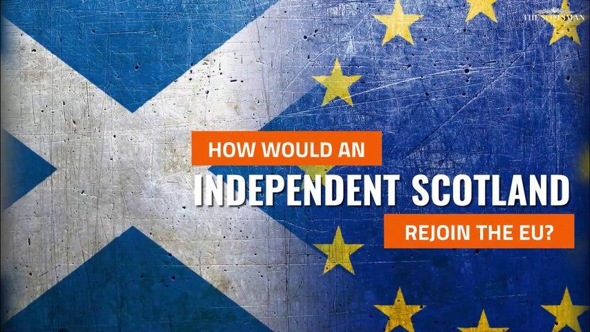 Indyref2   Could an independent Scotland rejoin the EU?